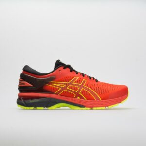 ASICS GEL-Kayano 25 Men's Running Shoes Cherry Tomato/Black Size 11.5 Width D - Medium