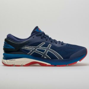 ASICS GEL-Kayano 25 Men's Running Shoes Indigo Blue/White Size 12 Width D - Medium