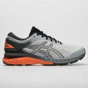 ASICS GEL-Kayano 25 Men's Running Shoes Mid Grey/Red Snapper Size 8.5 Width D - Medium