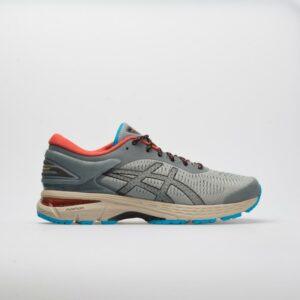 ASICS GEL-Kayano 25 Men's Running Shoes Stone Grey/Black Size 11 Width D - Medium