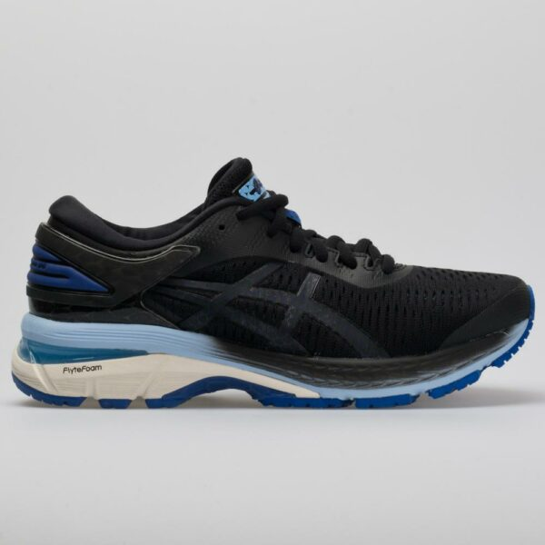 ASICS GEL-Kayano 25 Women's Running Shoes Black/ASICS Blue Size 11 Width B - Medium