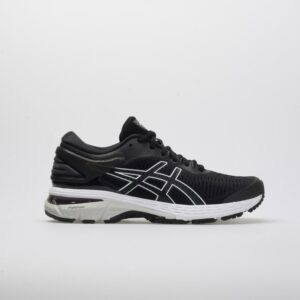 ASICS GEL-Kayano 25 Women's Running Shoes Black/Glacier Grey Size 6 Width B - Medium