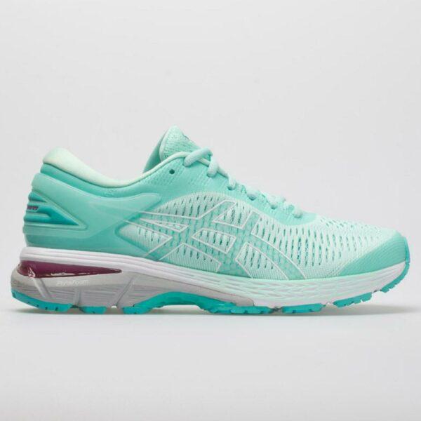 ASICS GEL-Kayano 25 Women's Running Shoes Icy Morning/Sea Glass Size 9 Width B - Medium