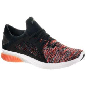 ASICS GEL-Kenun Knit Men's Running Shoes Orange/Black/Black Size 11.5 Width D - Medium