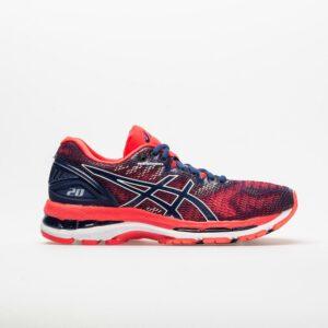 ASICS GEL-Nimbus 20 Women's Running Shoes Blue Print Size 6 Width B - Medium