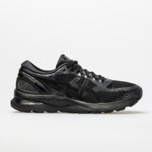 ASICS GEL-Nimbus 21 Men's Running Shoes Black/Black Size 10.5 Width D - Medium