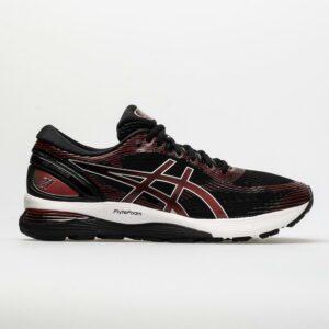 ASICS GEL-Nimbus 21 Men's Running Shoes Black/Classic Red Size 8.5 Width D - Medium