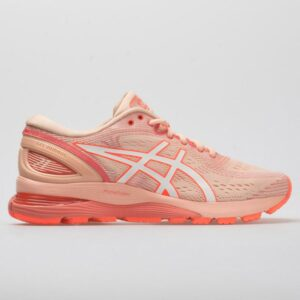 ASICS GEL-Nimbus 21 Women's Running Shoes Baked Pink/White Size 6 Width B - Medium
