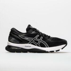 ASICS GEL-Nimbus 21 Women's Running Shoes Black/Dark Grey Size 9 Width B - Medium