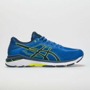 ASICS GEL-Pursue 4 Men's Running Shoes Victoria Blue/Dark Blue/Safety Yellow Size 10 Width D - Medium