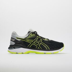 ASICS GEL-Pursue 5 Men's Running Shoes Black/Hazard Green Size 12.5 Width D - Medium
