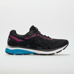 ASICS GT-1000 7 Women's Running Shoes Black/Pink Glow Size 9 Width B - Medium