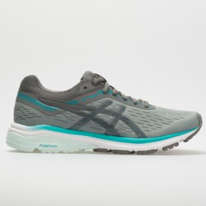 ASICS GT-1000 7 Women's Running Shoes Stone Grey/Carbon Size 6.5 Width B - Medium