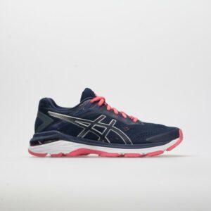 ASICS GT-2000 7 Women's Running Shoes Peacoat/Silver Size 10 Width B - Medium