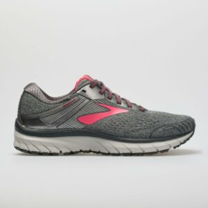Brooks Adrenaline GTS 18 Women's Running Shoes Ebony/Silver/Pink Size 11 Width B - Medium