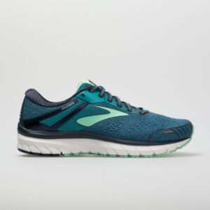 Brooks Adrenaline GTS 18 Women's Running Shoes Navy/Teal/Mint Size 6.5 Width AA - Narrow