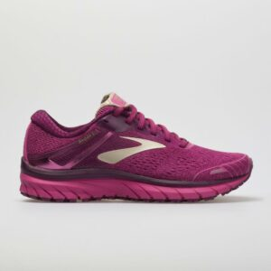Brooks Adrenaline GTS 18 Women's Running Shoes Pink/Plum/Champagne Size 6.5 Width B - Medium