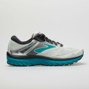 Brooks Adrenaline GTS 18 Women's Running Shoes White/Black/Teal Size 10 Width B - Medium