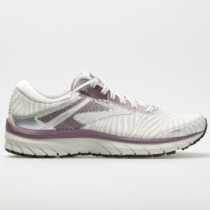 Brooks Adrenaline GTS 18 Women's Running Shoes White/Purple/Grey Size 10 Width B - Medium