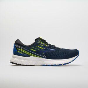 Brooks Adrenaline GTS 19 Men's Running Shoes Black/Blue/Nightlife Size 9 Width D - Medium