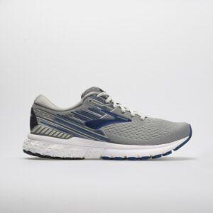 Brooks Adrenaline GTS 19 Men's Running Shoes Gray/Blue/Ebony Size 12 Width 4E - Extra Wide