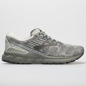 Brooks Adrenaline GTS 19 Men's Running Shoes Grey/White/Ebony Size 14 Width D - Medium