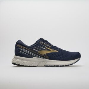 Brooks Adrenaline GTS 19 Men's Running Shoes Navy/Gold/Gray Size 8.5 Width EE - Wide