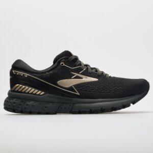 Brooks Adrenaline GTS 19 Women's Running Shoes Black/Champagne Size 9 Width B - Medium
