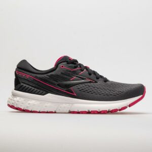 Brooks Adrenaline GTS 19 Women's Running Shoes Black/Ebony/Pink Size 7 Width B - Medium