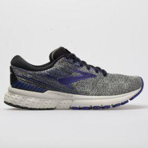 Brooks Adrenaline GTS 19 Women's Running Shoes Black/Purple/Gray Size 6.5 Width B - Medium