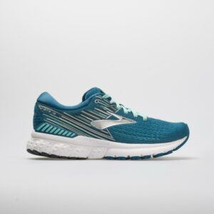 Brooks Adrenaline GTS 19 Women's Running Shoes Blue/Aqua/Ebony Size 8.5 Width B - Medium