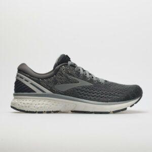 Brooks Ghost 11 Men's Running Shoes Ebony/Grey/Silver Size 9 Width D - Medium