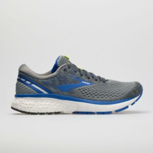 Brooks Ghost 11 Men's Running Shoes Grey/Blue/Silver Size 11 Width B - Narrow