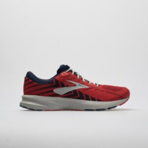 Brooks Launch 6 Men's Running Shoes Cherry/Navy/Gray Size 12.5 Width D - Medium