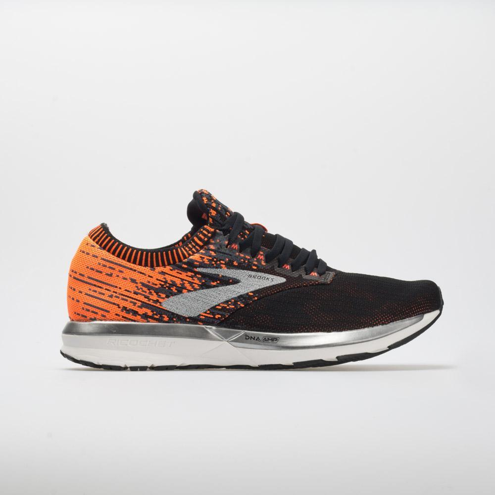 Black Brooks Ricochet Mens Running Shoes
