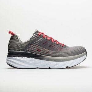 Hoka One One Bondi 6 Men's Running Shoes Alloy/Steel Gray Size 14 Width EE - Wide
