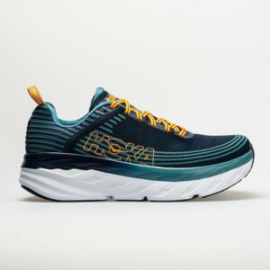 Hoka One One Bondi 6 Men's Running Shoes Black Iris/Storm Blue Size 11 Width D - Medium