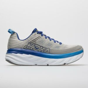 Hoka One One Bondi 6 Men's Running Shoes Vapor Blue/Frost Gray Size 11.5 Width D - Medium