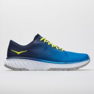 Hoka One One Cavu 2 Men's Running Shoes French Blue/Lime Green Size 9 Width D - Medium