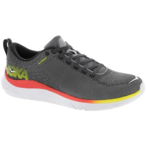 Hoka One One Hupana Men's Running Shoes Castlerock/Persimmon Orange Size 8.5 Width D - Medium