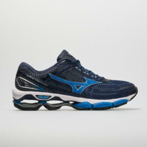 Mizuno Wave Creation 19 Men's Running Shoes Blue Depths/Peacoat Size 9 Width D - Medium