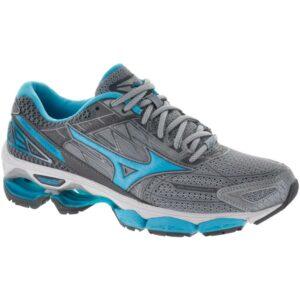 Mizuno Wave Creation 19 Women's Running Shoes High-rise/Blue Atoll/Castlerock Size 7 Width B - Medium