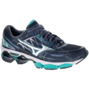Mizuno Wave Creation 19 Women's Running Shoes Magnet/Silver Size 6.5 Width B - Medium