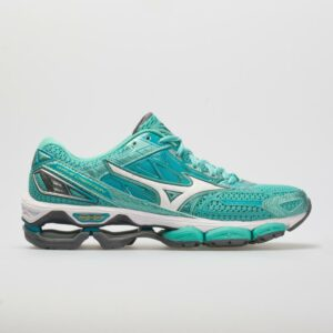 Mizuno Wave Creation 19 Women's Running Shoes Turquoise/Peacock Blue Size 6.5 Width B - Medium