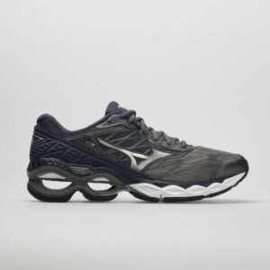 Mizuno Wave Creation 20 Men's Running Shoes Stormy Weather/Silver Size 11.5 Width D - Medium