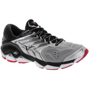 Mizuno Wave Horizon 2 Men's Running Shoes Silver/Black Size 8.5 Width D - Medium