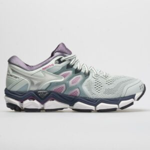 Mizuno Wave Horizon 3 Women's Running Shoes Quarry/Silver Size 9.5 Width B - Medium