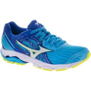 Mizuno Wave Inspire 14 Women's Running Shoes Cobalt/White Size 6.5 Width B - Medium
