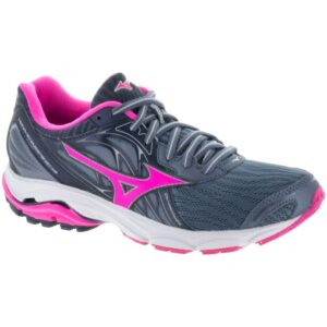Mizuno Wave Inspire 14 Women's Running Shoes Folkstone Gray/Clover Size 6.5 Width B - Medium