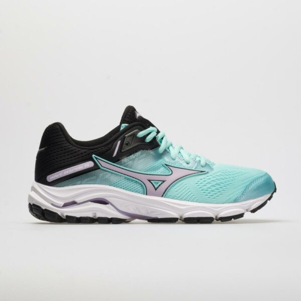 Mizuno Wave Inspire 15 Women's Running Shoes Angel Blue/Lavender Frost Size 7.5 Width B - Medium